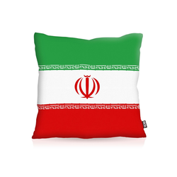 Kissenbezug, VOID, Iran Flagge Fahne Fan Outdoor Indoor Flag WM Ball 50 cm x 50 cm