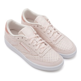 06f0d5656a4 Reebok Club C 85 Popped Perf light rose  white
