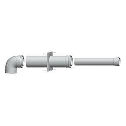 WOLF Paket C43x an feuchteunempfindlichen LAS oder für Abgasleitung in Schacht - DN 80/125 - 2651499