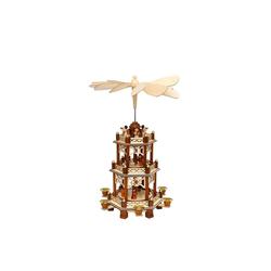 SIGRO Weihnachtspyramide Holz Pyramide 3 Etagen