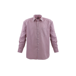 Lavecchia Hemd Übergrößen Hemd Übergrößen Hemd, lang Arm rot 4XL