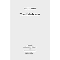 Vom Erhabenen. Martin Fritz  - Buch
