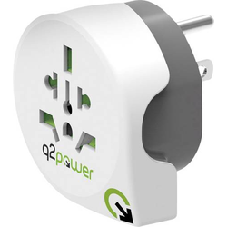 Q2 Power 1.100140 Reiseadapter Welt nach USA