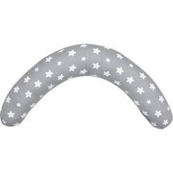 Stillkissen und Seitenschläferkissen, grau