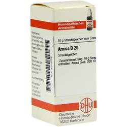 ARNICA D 20 Globuli 10 g