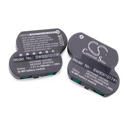 vhbw NiMH Akku 250mAh (4.8V) für Controller, Server COMPAQ Smart Array 5300 Controller, 500, 1000, 4200 Controller, 5302 wie 470013-094, 470013-211.