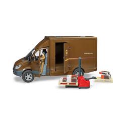 Bruder® Spielzeug-Auto MB Sprinter UPS mit Fahrer und Zubehör