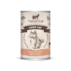5x400g  + 400g GRATIS Natural Trail LIGHT CAT  Super Premium Nassfutter für Katzen Katzenfutter
