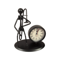 Gewa Skulptur mit Uhr - Posaune