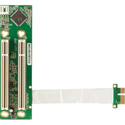 PCI250 PCIe(x1) zu 2x PCI Riser flexibel (100 mm)