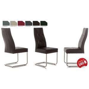Standard Furniture Henry Schwingstuhl Kunstleder viele Farben