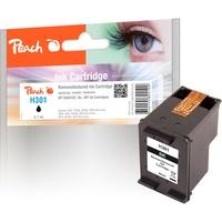 Peach Tinte schwarz kompatibel zu HP 301, CH561EE