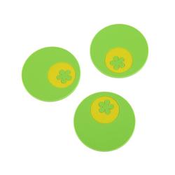 Kochblume Getränkeuntersetzer Multi-Untersetzer, Set, 3-tlg., Hitzebeständig bis 230° grün