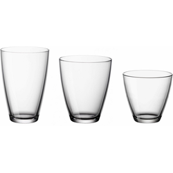 van Well Gläser-Set Excellent (18-tlg), Glas