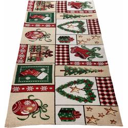 Dreams Tischläufer Weihnachtszeit (1-tlg) 50 cm x 150 cm
