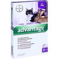 BAYER Advantage 80 für Katzen und Zierkaninchen 4 x 0,8 ml