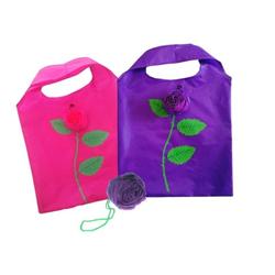 JOKA international Einkaufsbeutel Einkaufsbeutel faltbar, Rose, 2er Set (pink und lila)
