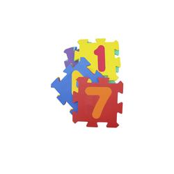 Puzzelmatte  Zahlen ¦ mehrfarbig