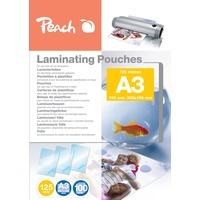 Peach Laminierfolien A3, 125 mic, 100 Stück