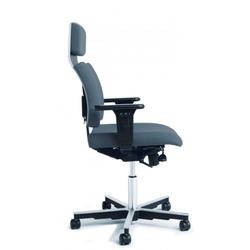 Treston Stuhl ohne Kopfstütze rot X40L R