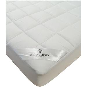 Julie Julsen® Unterbett Matratzen-Schoner in verschiedenen Größen, Soft-Topper, Microfaser-Polyester-Matratzen-Auflage auch für Boxspring- und Wasserbetten geeignet 140x200 cm