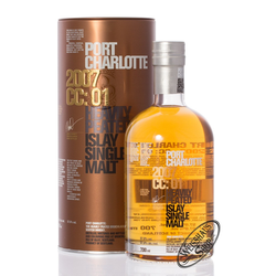 Port Charlotte 2007 cc:01 Islay Whisky 57,8% vol. 0,70l