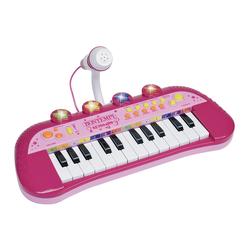 Bontempi Elektronik-Keyboard, rosa