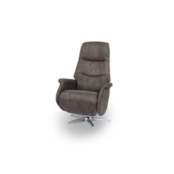 ebuy24 Relaxsessel Dode Recliner Sessel in braun.