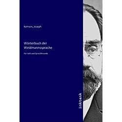 Wörterbuch der Weidmannssprache - Buch