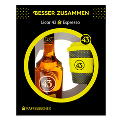 Licor 43 31%vol. 0,7L inkl. Kaffeebecher
