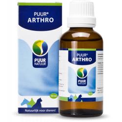 Puur Arthro (gewrichten) voor hond, kat en paard  2 x 50 ml