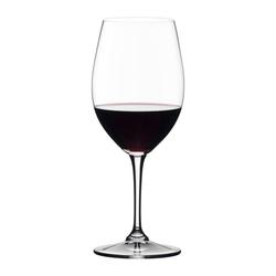 RIEDEL Glas Gläser-Set Vivant Red Wine 4er Set, Kristallglas weiß