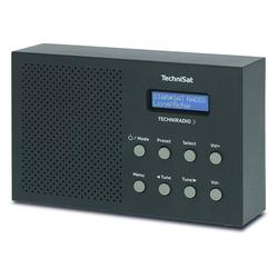 TechniSat TechniRadio 3 DAB Radio schwarz Radio