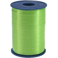 Präsent C.E. PATTBERG Geschenkband apfelgrün, 250 Meter Ringelband 10 mm zum Basteln, Dekorieren & Verpacken von Geschenken zu jedem Anlass