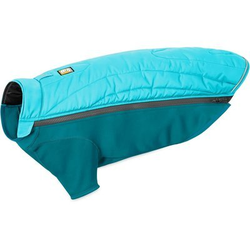 Ruffwear Powder Hound? Hundemantel, M, Blue Atoll - Rücken 59 cm / Brust 69-81 cm