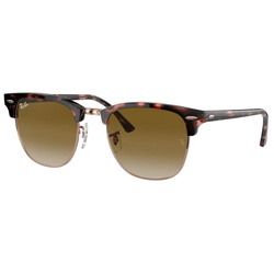RAY BAN Sonnenbrille CLUBMASTER RB3016 rosa L