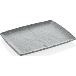 Q Squared NYC Servierplatte, (1 tlg.) grau Servierplatten Geschirr, Porzellan Tischaccessoires Haushaltswaren Servierplatte