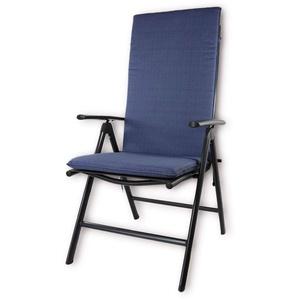 Nordje Gartenmöbelauflage   120x50x5 cm   Hochlehner   Top Qualität Produkt   Sitzkissen Outdoor (Kobalt)
