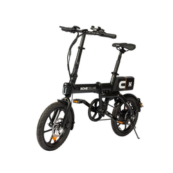 HOME DELUXE E-Bike OPTIMUS, Automatikschaltung, 250,00 W schwarz