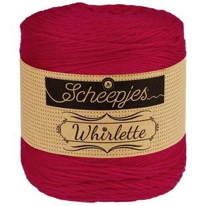Scheepjes Whirlette Baumwollmischgarn Fb. 871 Coulis, Sommerwolle zum Stricken und Häkeln