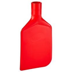 Vikan Rührlöffelblatt, 220 mm, Schaber für das Entleeren von Behältern und Töpfen, Material: Polyethylen, rot
