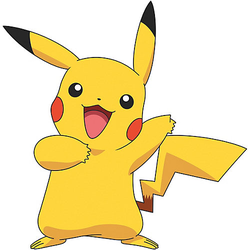 Wandsticker Pokemon Pikachu Giant, 12-tlg. mehrfarbig