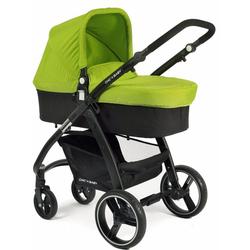 CHIC4BABY Kombi-Kinderwagen Volare, grün-schwarz, inklusive Sportsitz; Kinderwagen