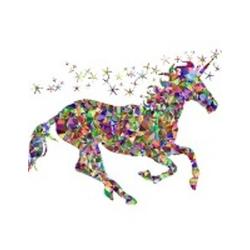 Gemstone Unicorn Notebook als Buch von Rwg