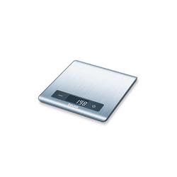 BEURER Küchenwaage Beurer Küchenwaage KS 51, mit Sensor-Touch, 15 mm flach, grammgenau bis 5kg