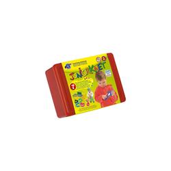 Feuchtmann Knete Juniorknet One for Two Klickbox Midi, 7 x 50 g