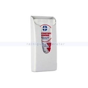 Hygienebeutelspender Steiner Kunststoff weiß geeignet für 260 Papierbeutel