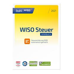 WISO steuer:Sparbuch 2021 für Steuererklärung 2020 Win, Deutsch (DL42825-21)