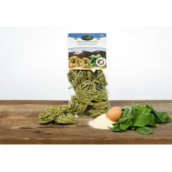 Eggerhof Spinat Fettuccine aus Südtirol - Eierbandnudeln mit Spinat aus Hartw...