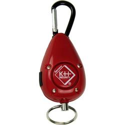 Kh-security Taschenalarm Rot mit LED 100189
